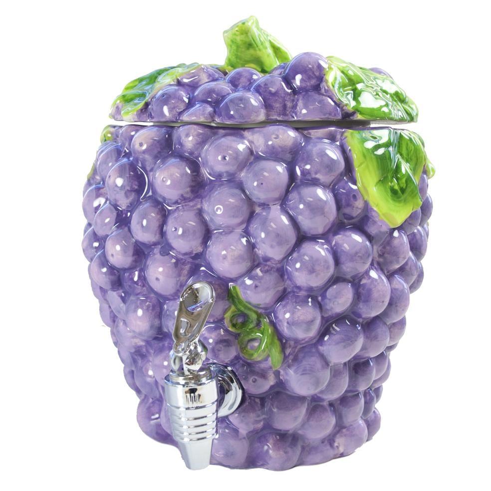 American Atelier 190-ounce Ceramic Grape Beverage Dispenser