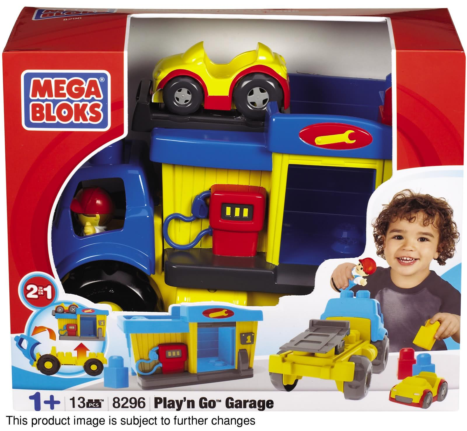 Mega Bloks Play'n Go Garage Toy Set - Thumbnail 1