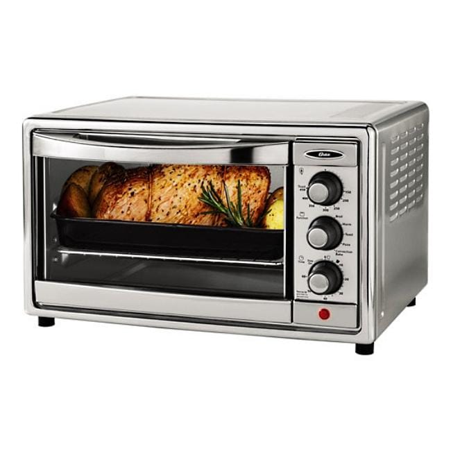 Oster 6-slice Stainless Steel Convection Toaster Oven - Free Shipping ...