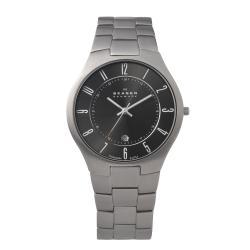 Skagen Men's 801XLTXM Grey Titanium Quartz Watch