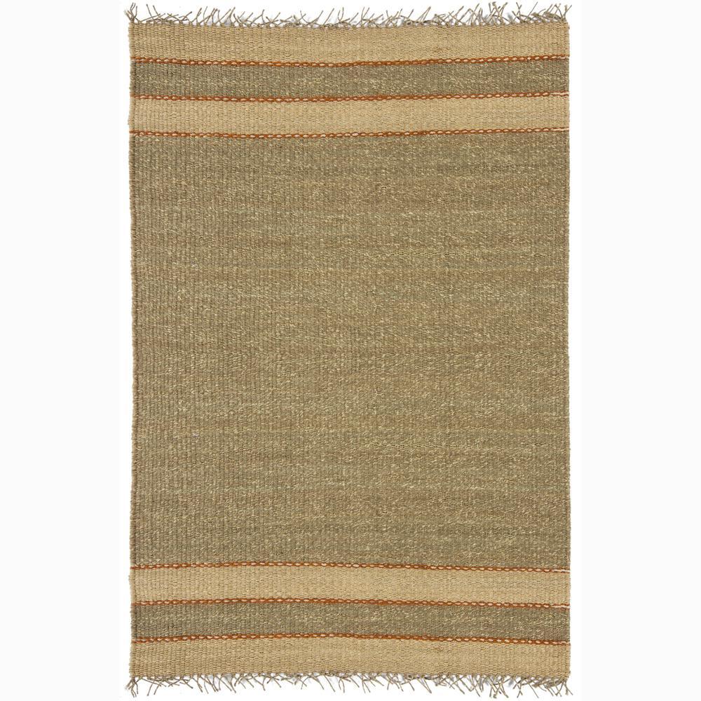 Hand-woven Mandara Natural Living Jute Rug (5' x 7'6)