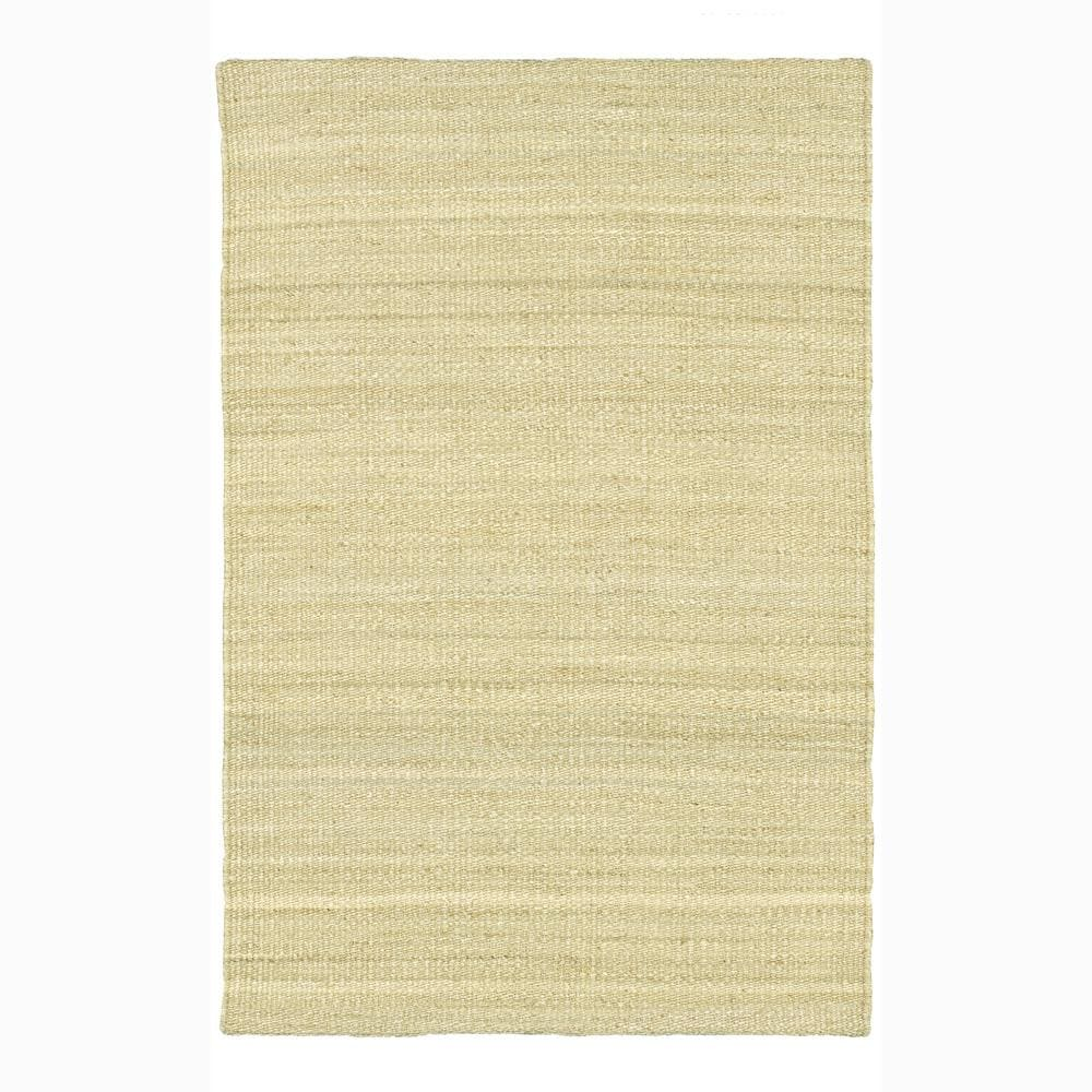 Artist's Loom Hand-woven  Casual Reversible Natural Eco-friendly Jute Rug (9'x13')