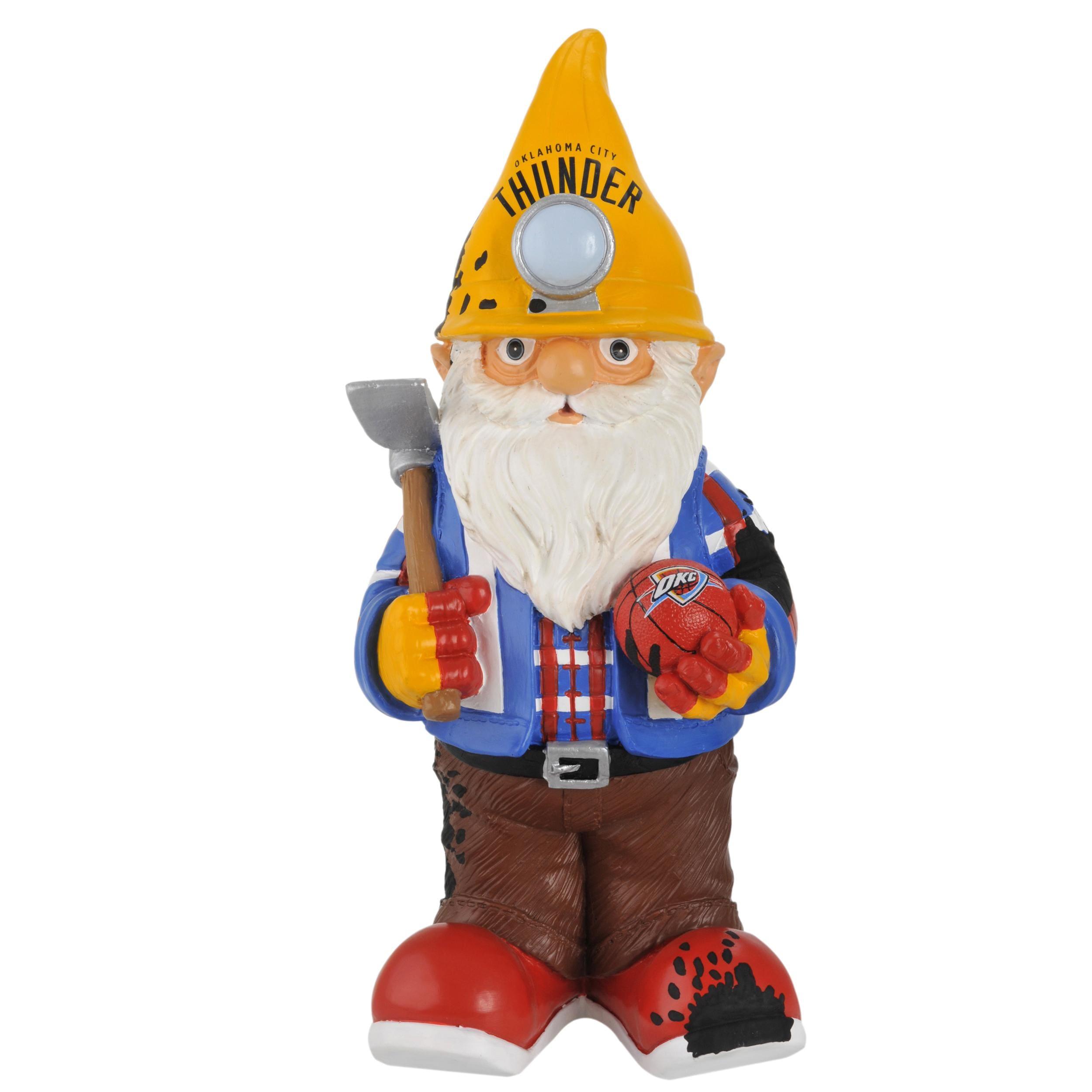 Oklahoma City Thunder 11-inch Thematic Garden Gnome - Thumbnail 1