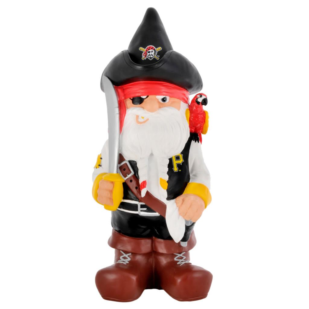 Pittsburgh Pirates 11-inch Thematic Garden Gnome - Thumbnail 2