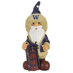 Washington Huskies 11-inch Thematic Garden Gnome - Thumbnail 0