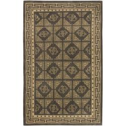 Hand-knotted Delgado Wool Area Rug (8' x 11') - Thumbnail 0