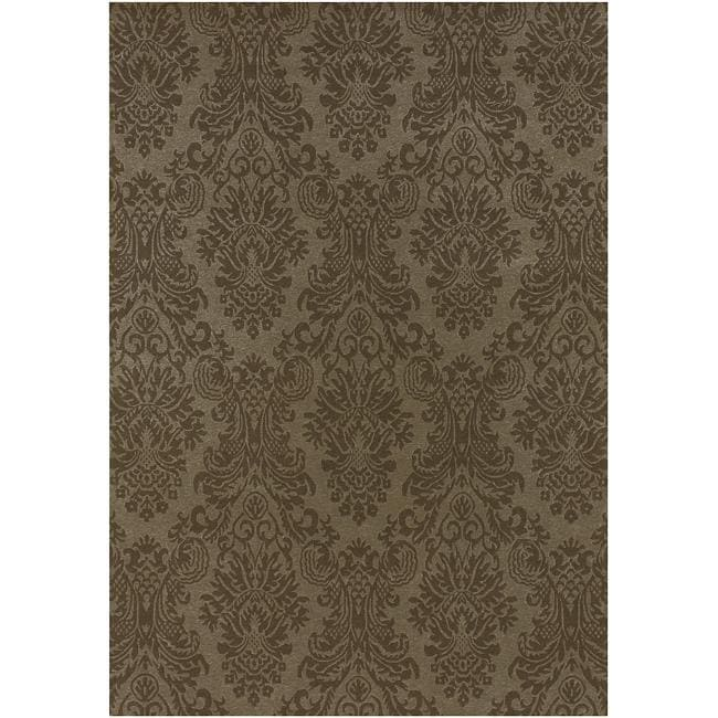Hand-knotted Wheeler Wool Area Rug (8' x 11')