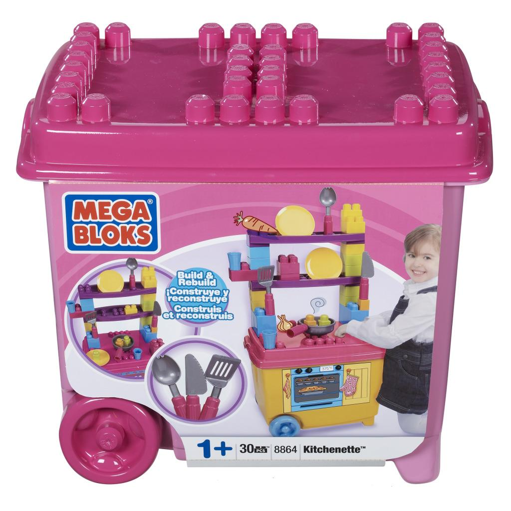 Mega Bloks Build'n Play Kichenette Toy Set - Thumbnail 1