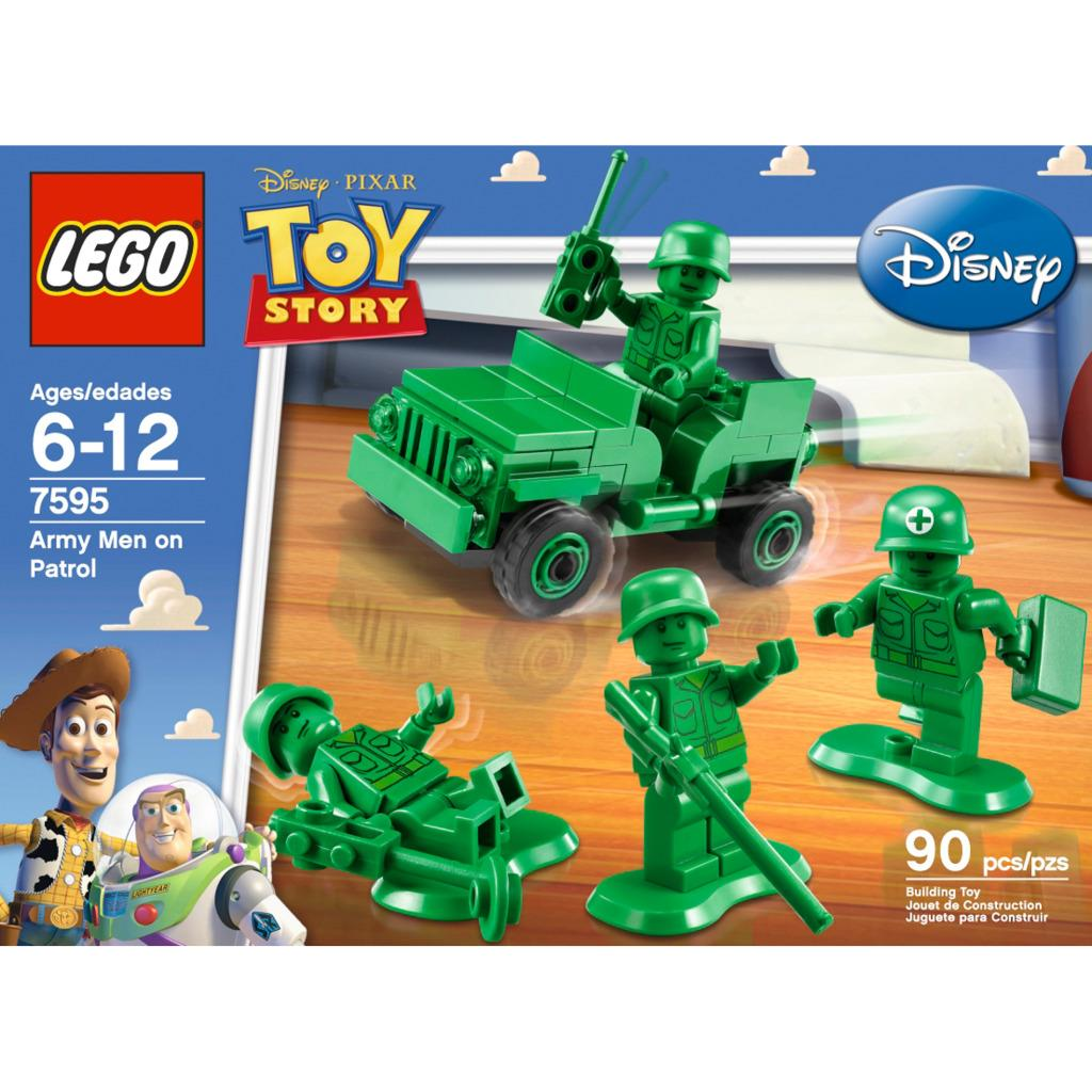 Lego toy story army men on patrol toy set free shipping - Lego toys story ...