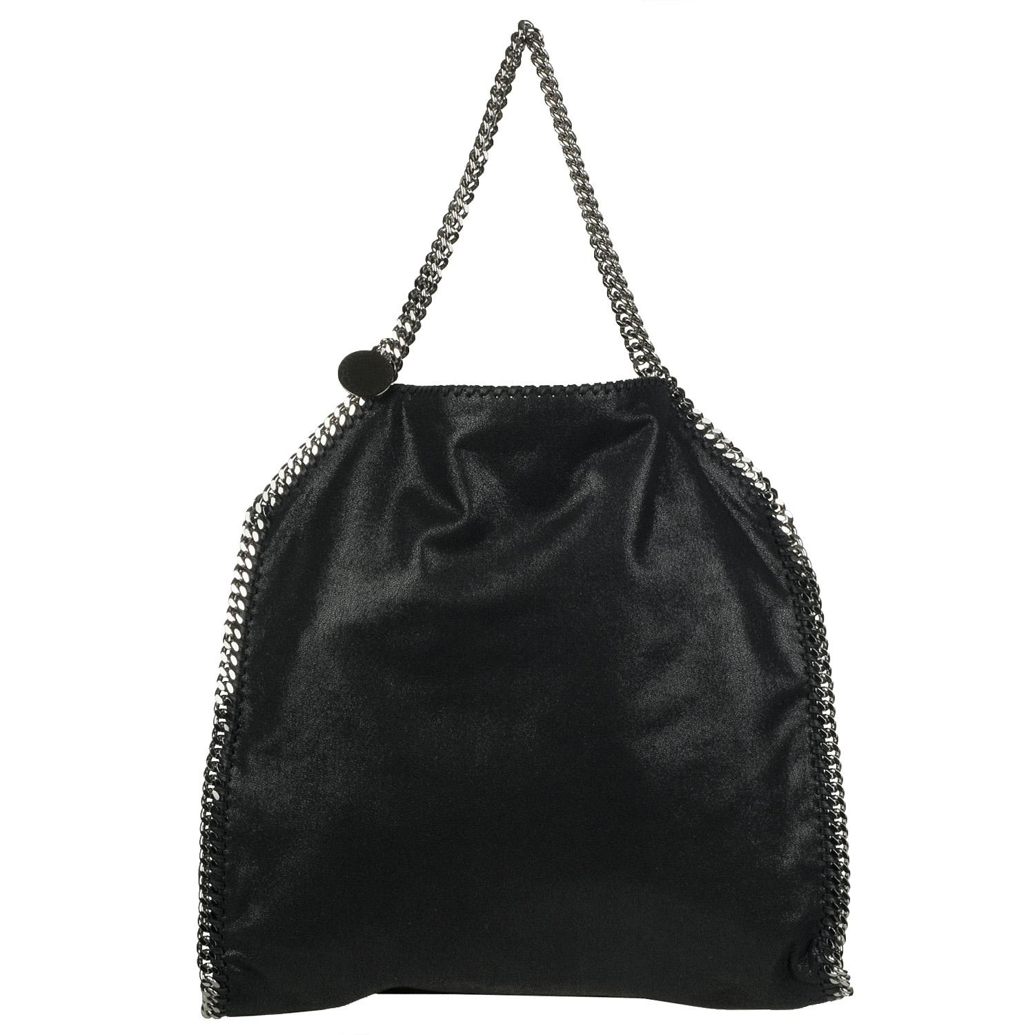 Shop Stella McCartney Shaggy Deer Falabella Tote - Free Shipping Today -  Overstock.com - 5982775 1640ddbfefa5a