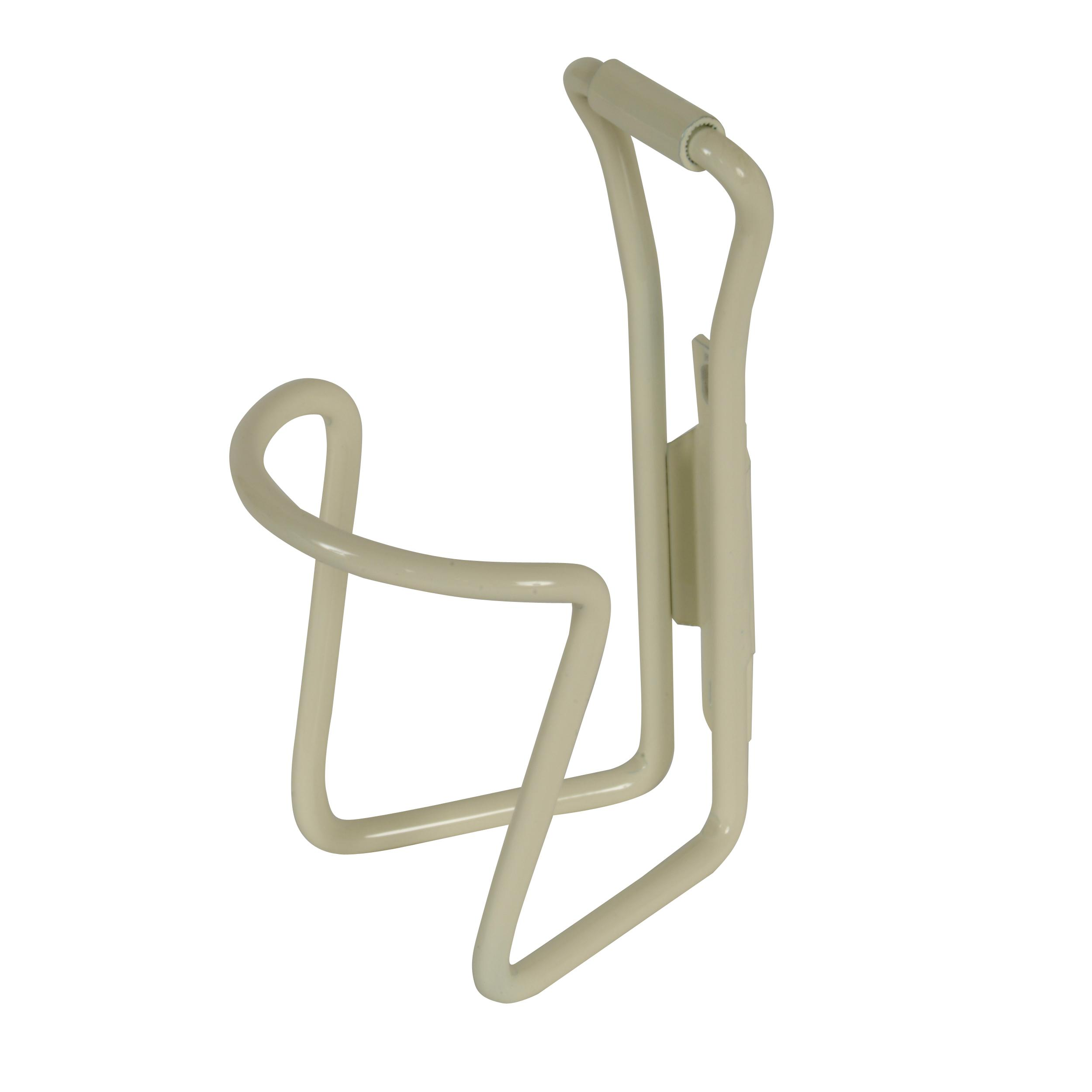 Cycle Force M-Wave White Alloy Bottle Cage
