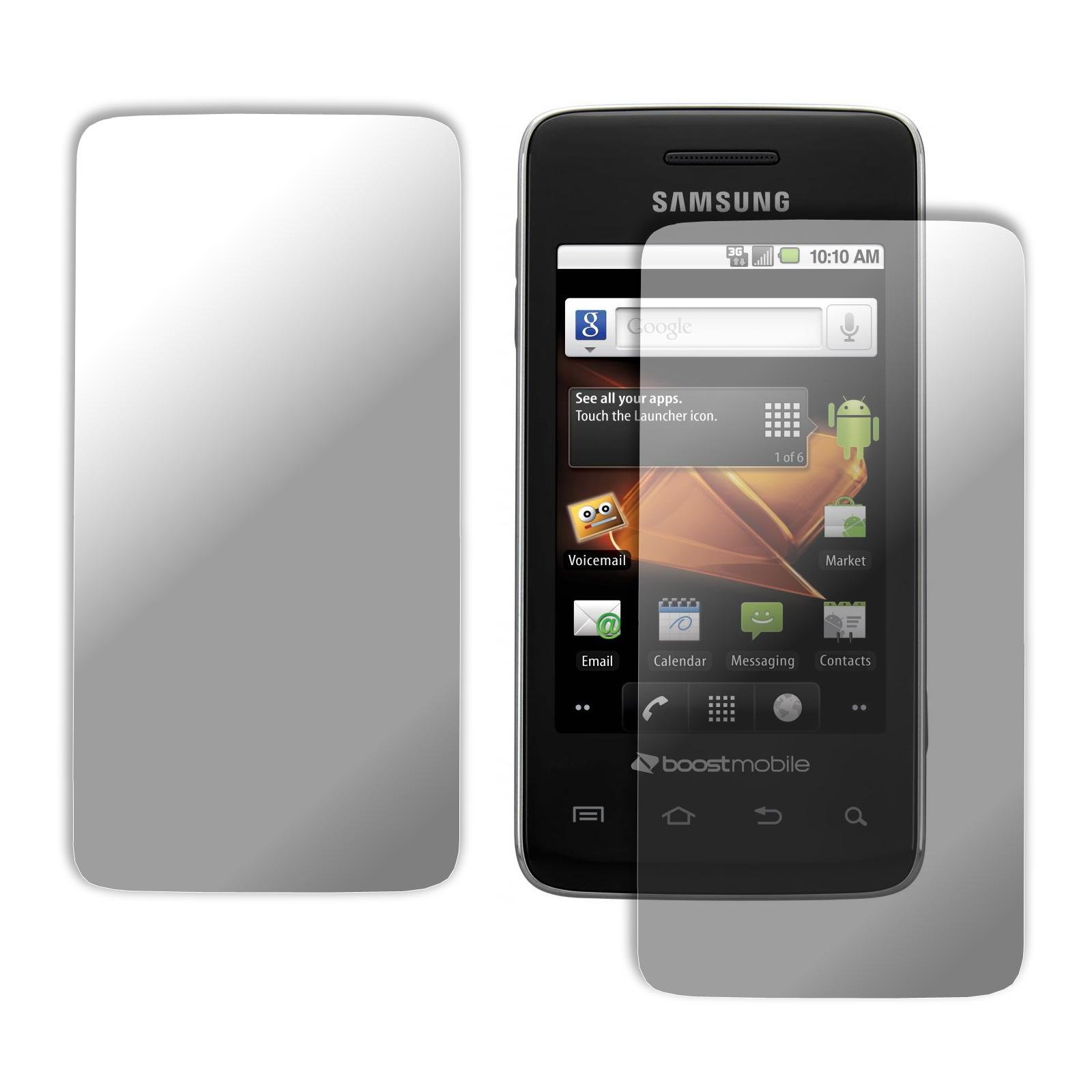 Premium Samsung Galaxy Prevail Screen Protector (Pack of 2)