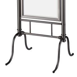 Ashland Black Nickel Full-length Dressing Mirror - Thumbnail 1