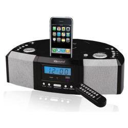IQ Sound IQ-1305 Portable MP3 Speaker Docking Station/ CD Player with AM/FM Radio - Thumbnail 1