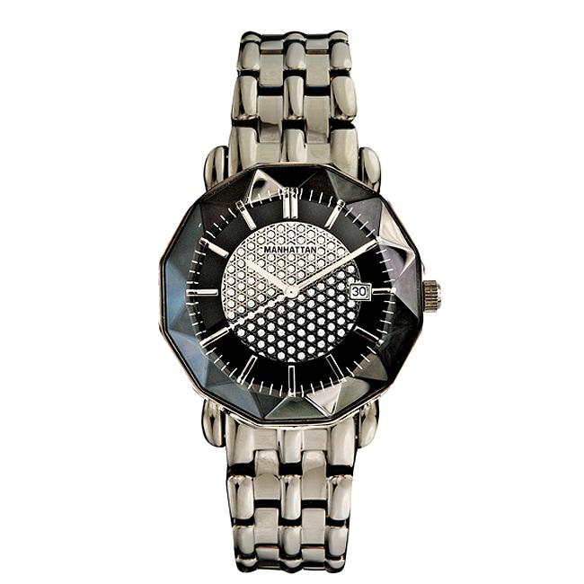 Shop Croton Women S Manhattan Dress Quartz Watch With Faceted Case
