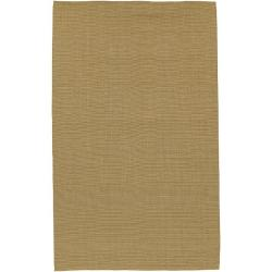 Hand-woven Gerald Natural Jute Area Rug (3'6 x 5'6)
