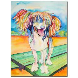 Pat Saunders-White 'Mango Salsa' Canvas Art