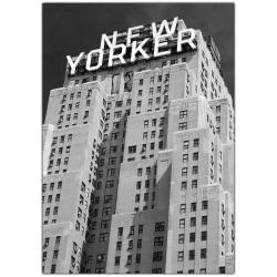 Yale Gurney 'New Yorker' Canvas Art