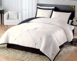 Diamond 4-piece King-size Comforter Set - Thumbnail 2