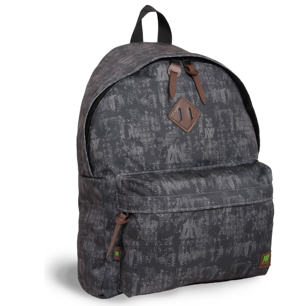 J World 'Kelley' Black Frost 16-inch Mini Day Backpack