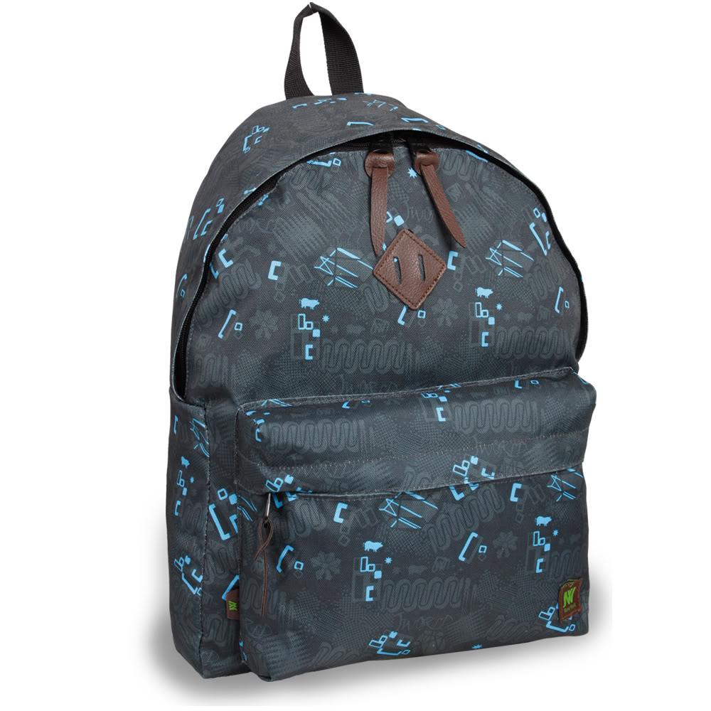 J World 'Kelley' Black Blinker 16-inch Mini Day Backpack
