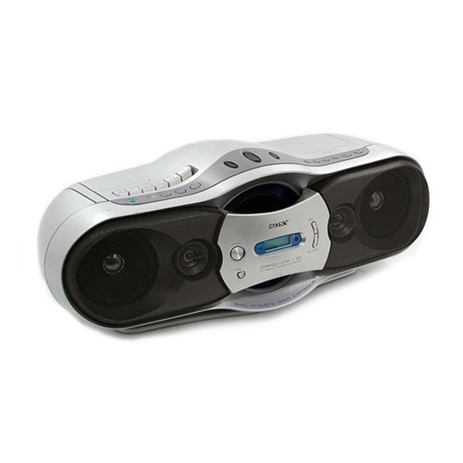 Sony CFD-F10 Silver Boombox (Refurbished)