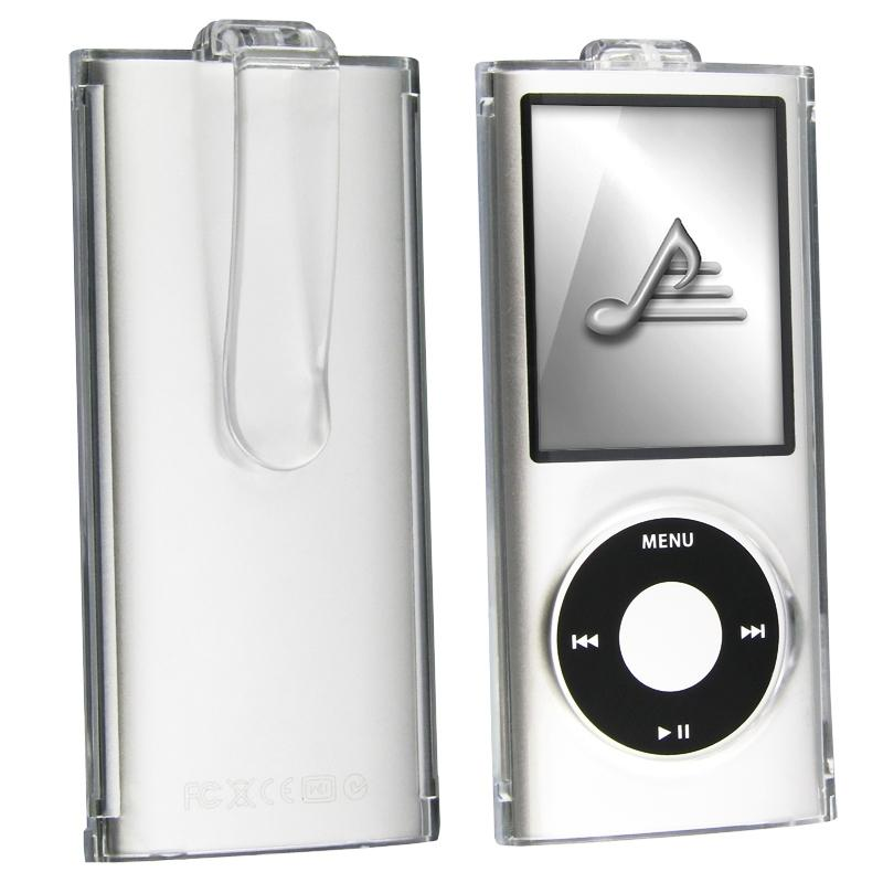Crystal Case with Clip for Apple iPod nano 4th Gen