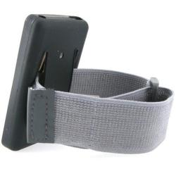 Grey Armband for Apple iPod/ iPhone/ Microsoft Zune - Thumbnail 1