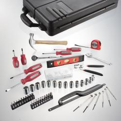 Turning Point 125-piece Home Essential Tool Set - Thumbnail 1