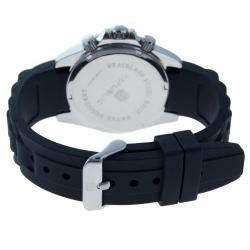 Republic Men's Sport Silicone Band Chronograph Watch