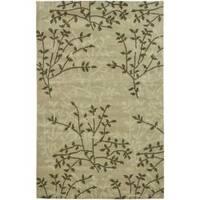 Safavieh Handmade Soho Moments Green New Zealand Wool Rug - 3'6 x 5'6'