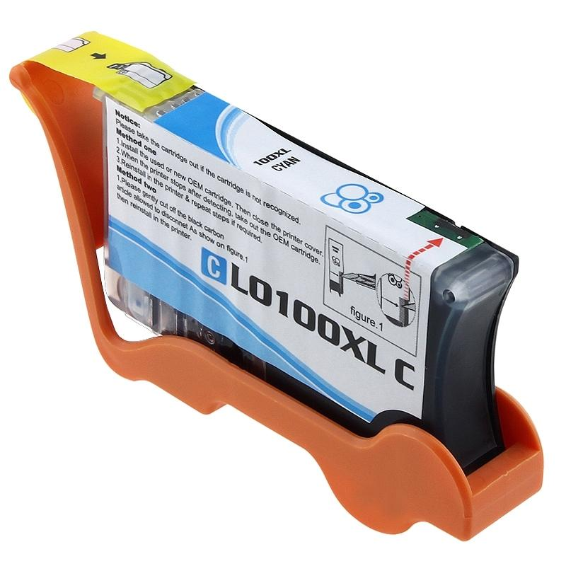 Lexmark 100XL Compatible Cyan Ink Cartridge 14N1069 - Thumbnail 0
