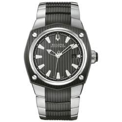 Bulova Accutron Men's 65B001 Swiss Made 25 Jewel Mechanical Watch