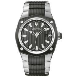 Bulova Accutron Men's 65B001 Swiss Made 25 Jewel Mechanical Watch