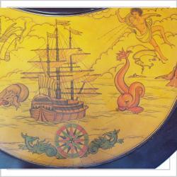 Merske Globes Trolley Globe Bar - Thumbnail 1