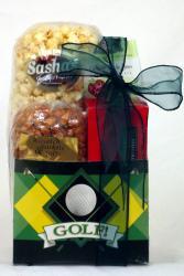 Gift Techs Mountain Golfer Gourmet Snack Food Gift Box - Thumbnail 1
