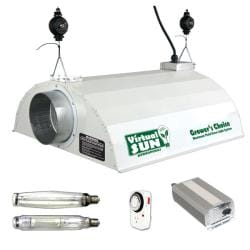 Virtual Sun 1000-watt Digital Ballast Grow Light Kit