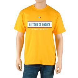 Le Tour de France Men's 'Vintage' Yellow Official T-Shirt