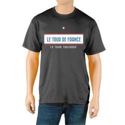 Le Tour de France Men's 'Vintage' Black Official T-Shirt