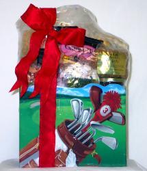 Gift Techs Mountain Golfer Large Gourmet Snack Food Gift Box - Thumbnail 1