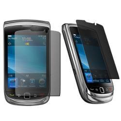 Spring Flower Case w/ Privacy Filter for Blackberry 9800