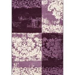 nuLOOM Euro Overdyed Floral Rug (8 'x 11')