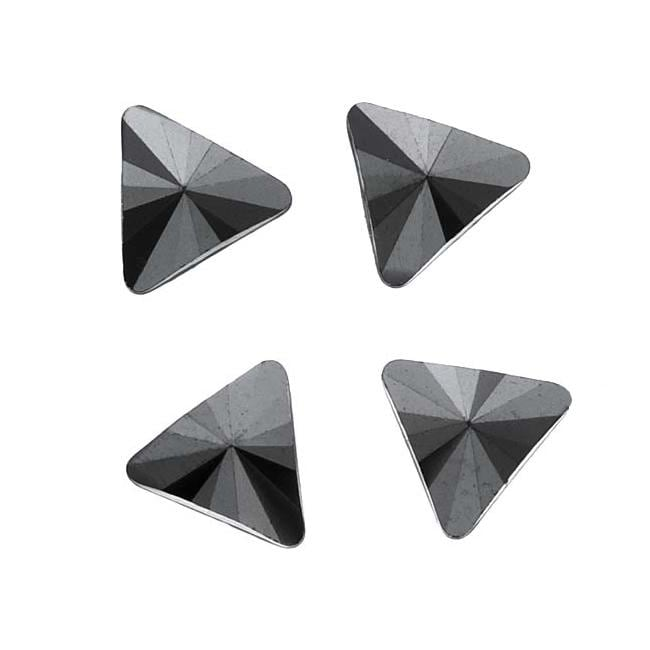 Shop Jet Hematite 5mm Austrian Crystal Flatback Rhinestones (Pack of 10) - Free  Shipping On Orders Over  45 - Overstock.com - 6027209 85c68ec80dae