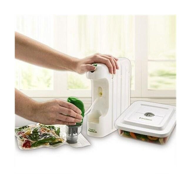 Foodsaver Mealsaver Compact Vacuum Sealing System Free