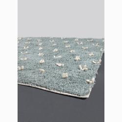 Hand-woven Mandara New Zealand Wool Rug (7'9 x 10'6) - Thumbnail 1