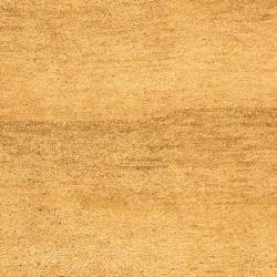 Safavieh Hand-knotted Gabeh Solo Caramel Wool Rug (5' x 8')