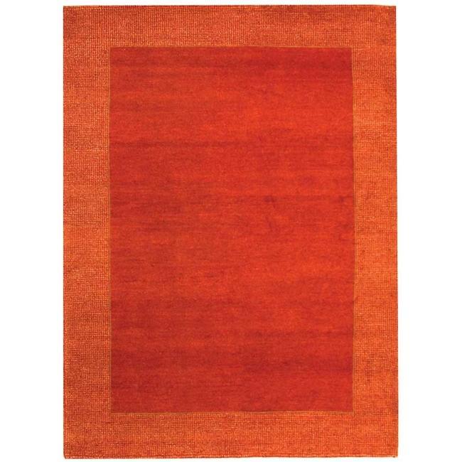 Safavieh Hand-knotted Gabeh Passage Rust Wool Rug - 5' x 8'