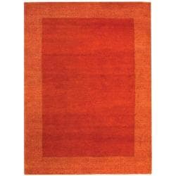 Safavieh Hand-knotted Gabeh Passage Rust Wool Rug (5' x 8')