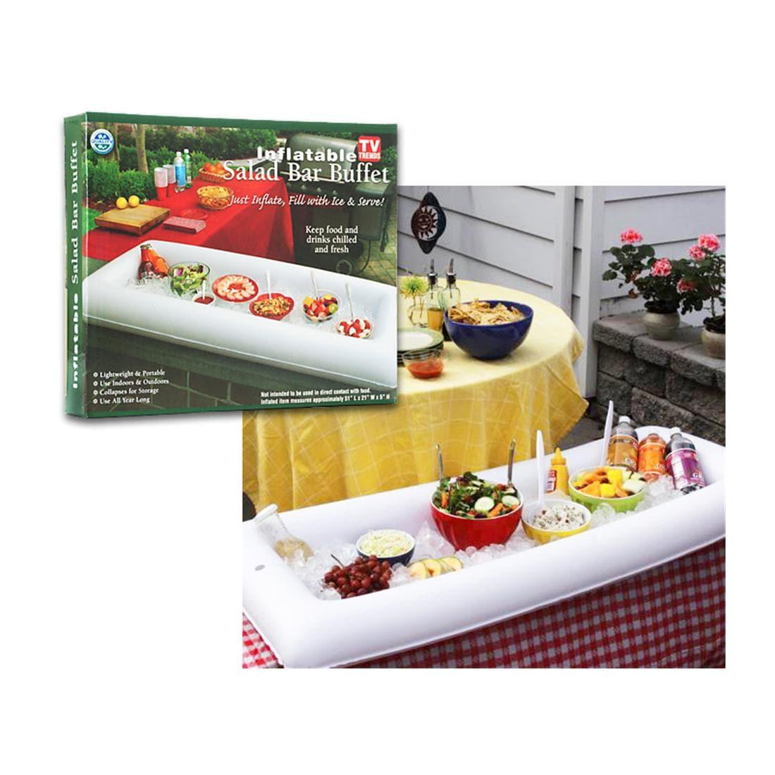 Inflatable Portable Buffet and Salad Bar Drink Cooler - Thumbnail 2