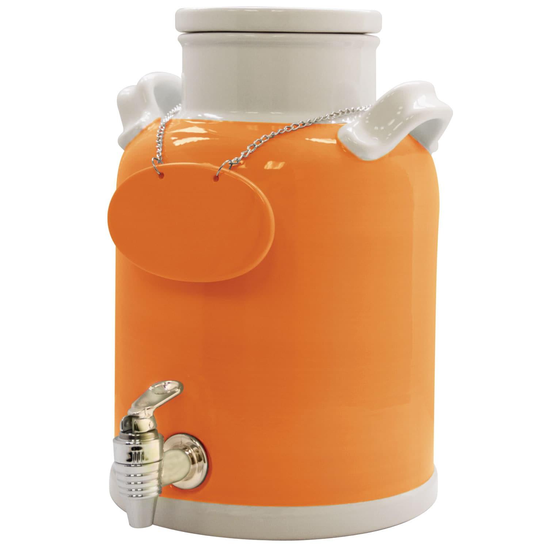 American Atelier Orange 330-oz Beverage Dispenser